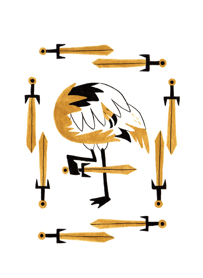 Nine of Swords - Upright: Fear, Nightmares, AnxietyReversed: Stressing Out, Self-Fullfilling Prophecy, Over-Complication