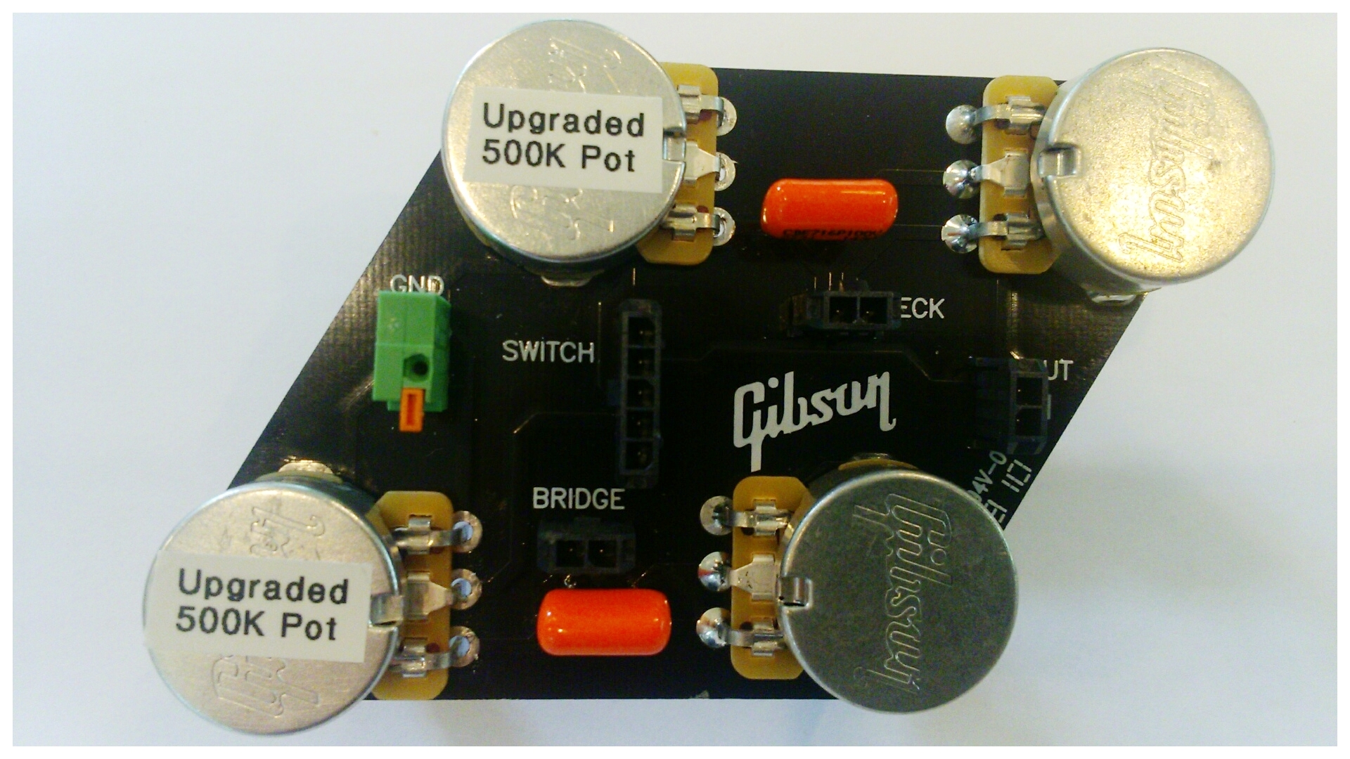 Gibson Les Paul Circuit Board Upgrade