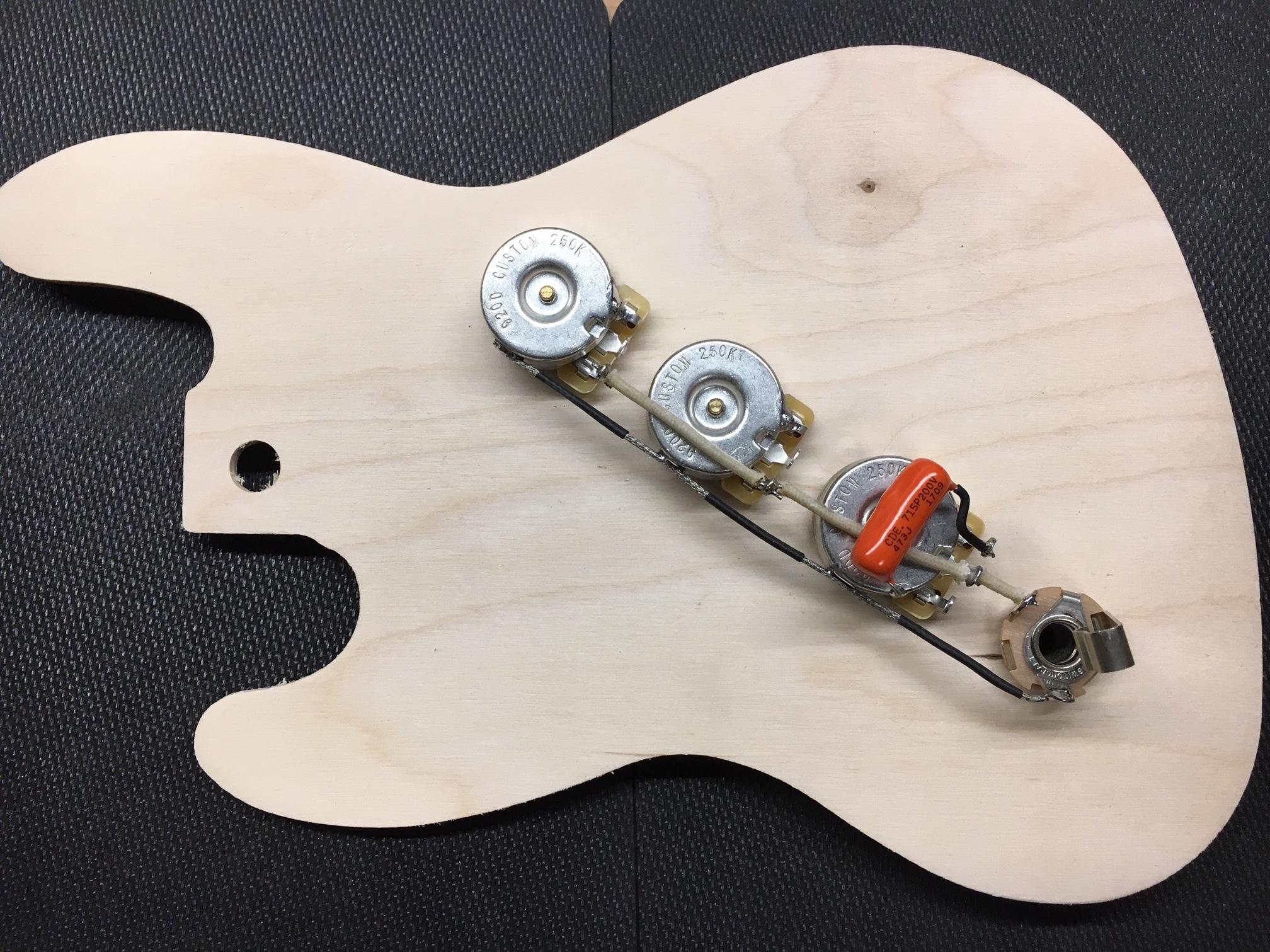 StayTuned Custom Shop | Bass Guitar Wiring Harness |  | StayTuned Custom Shop