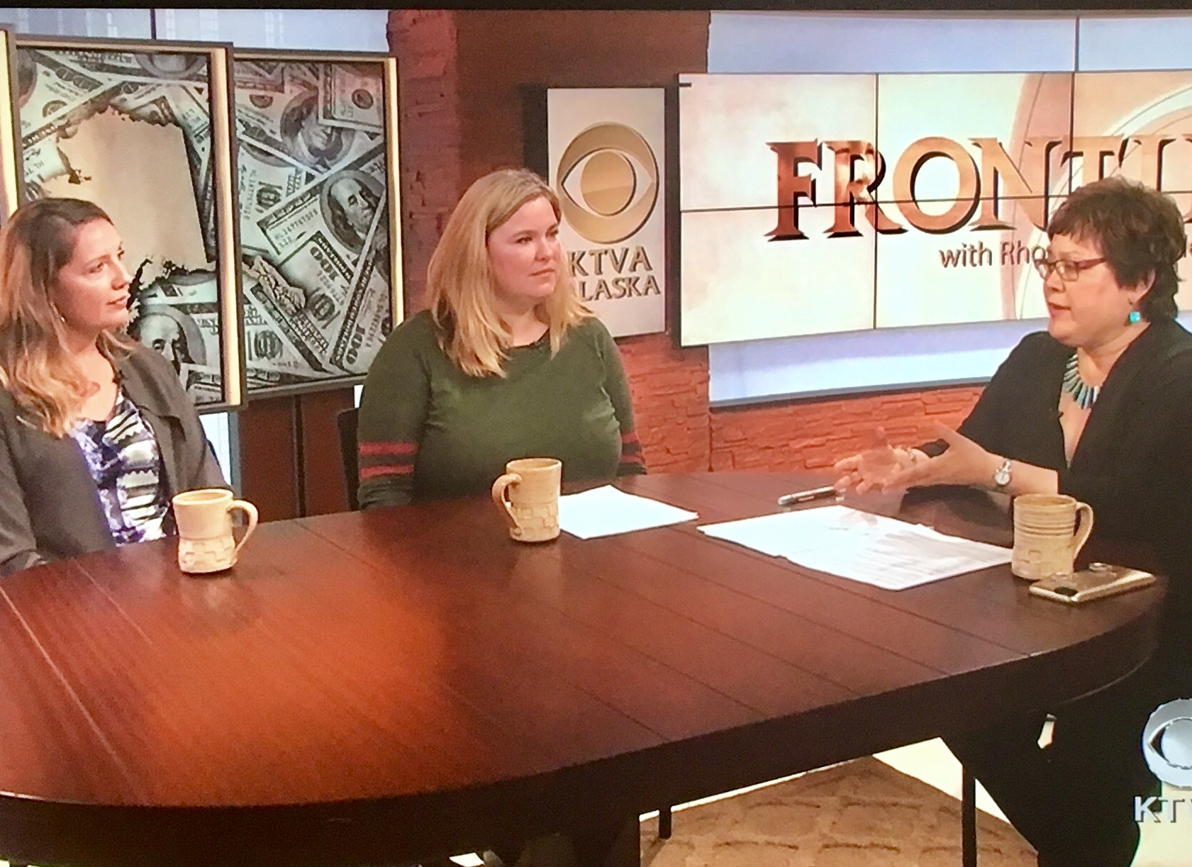 Gretchen Fauske and Katherine Jernstrom are interviewed on Frontiers with Rhonda McBride.