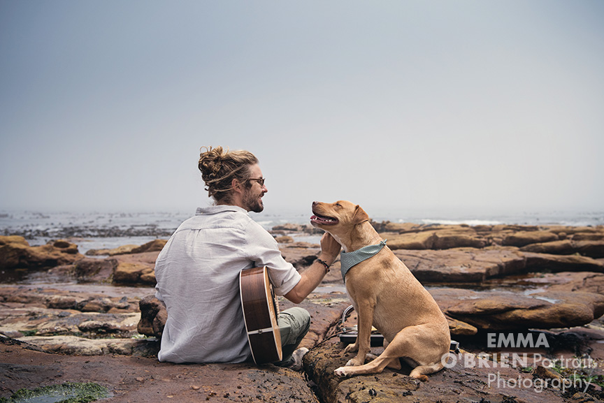 Jeremy loops and Maya photographed by Emma O'Brien
