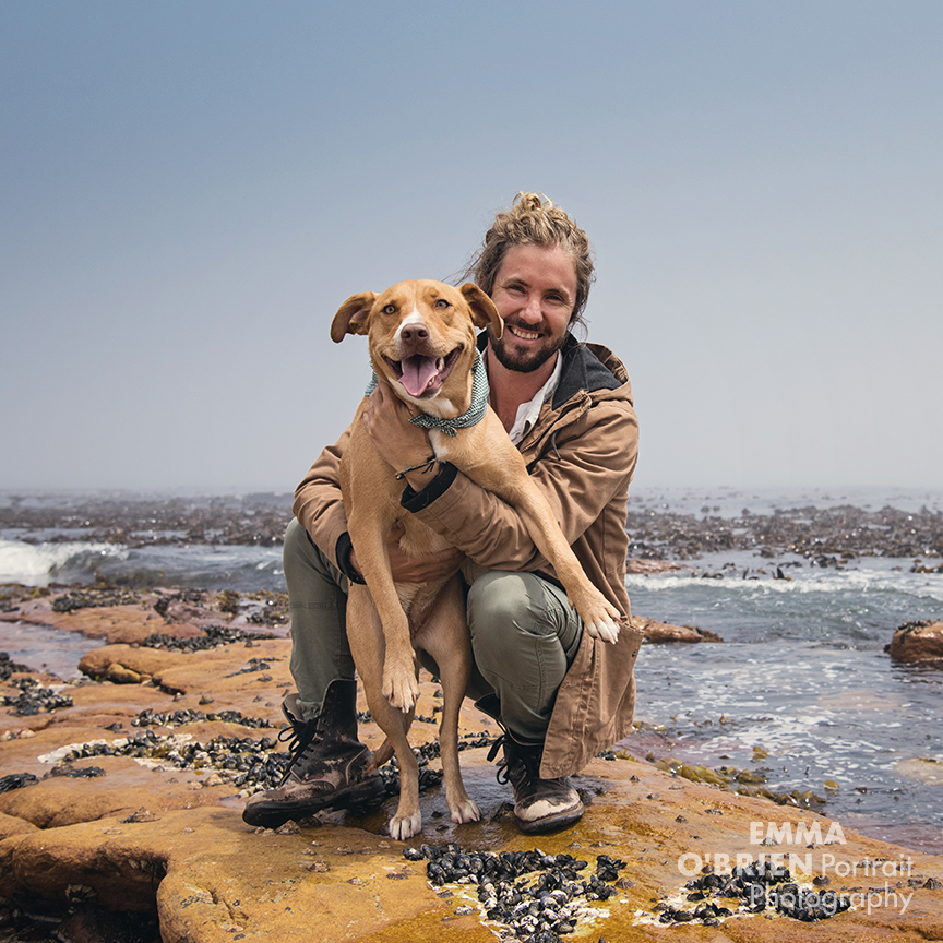 Jeremy Loops photographed on location in Cape Town by Emma O'Brien