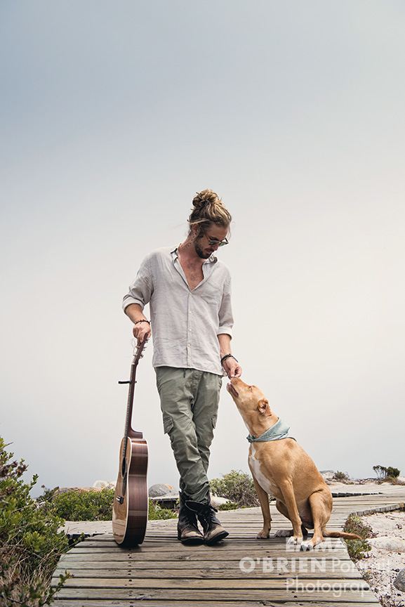 Jeremy Loops photographed in Cape Town by Emma O'Brien
