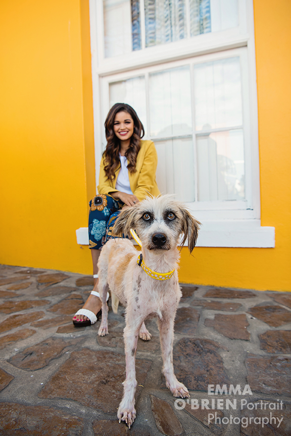 cape town dog portrait photographer bo kaap