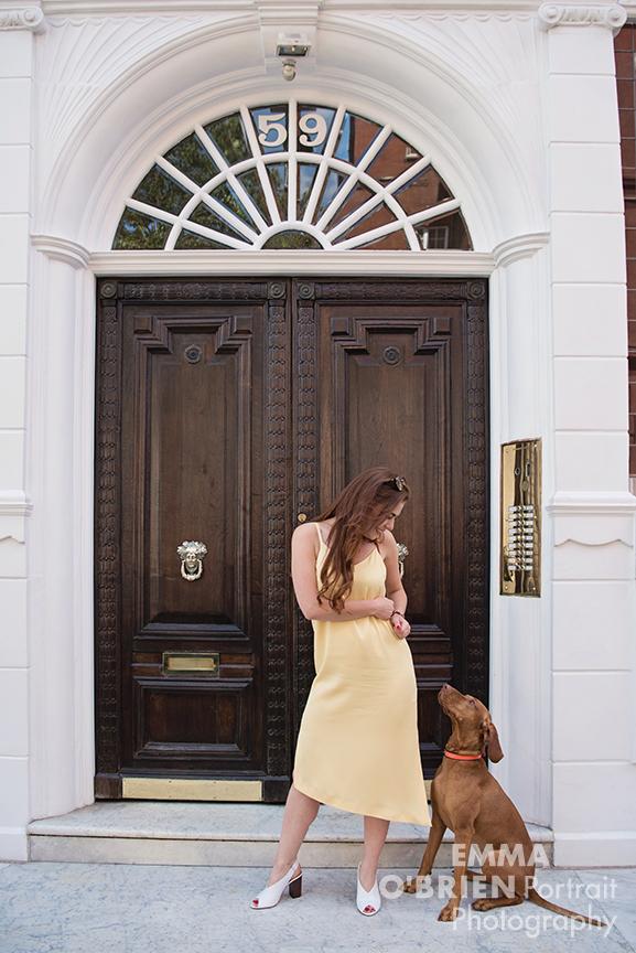 dog portrait photography chelsea london
