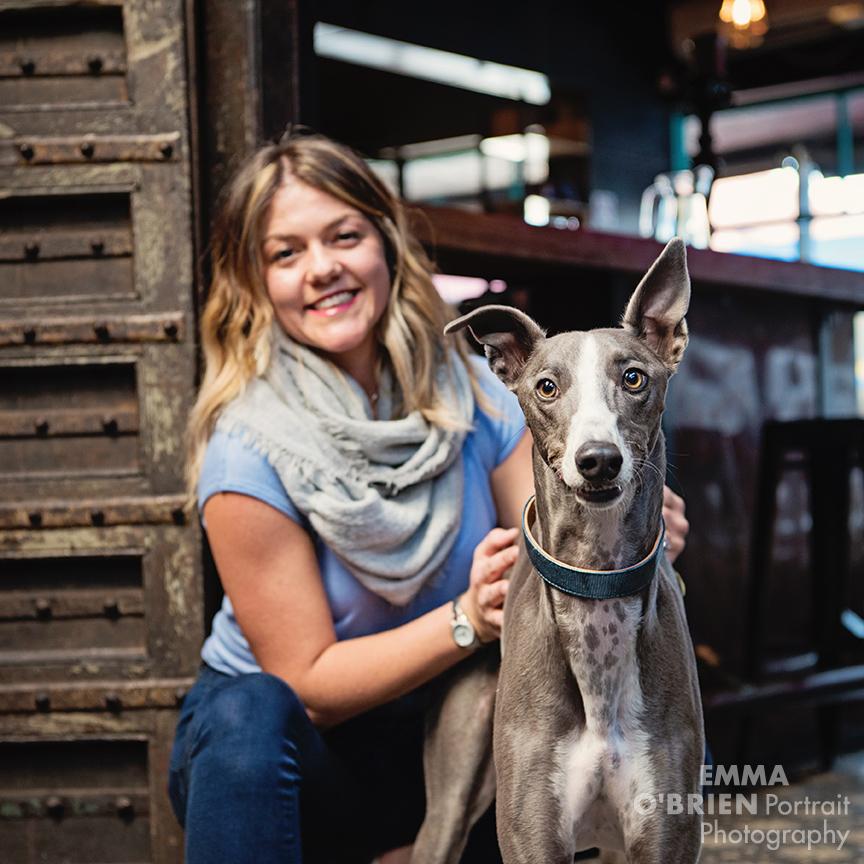 dog portrait photography on location johannesburg