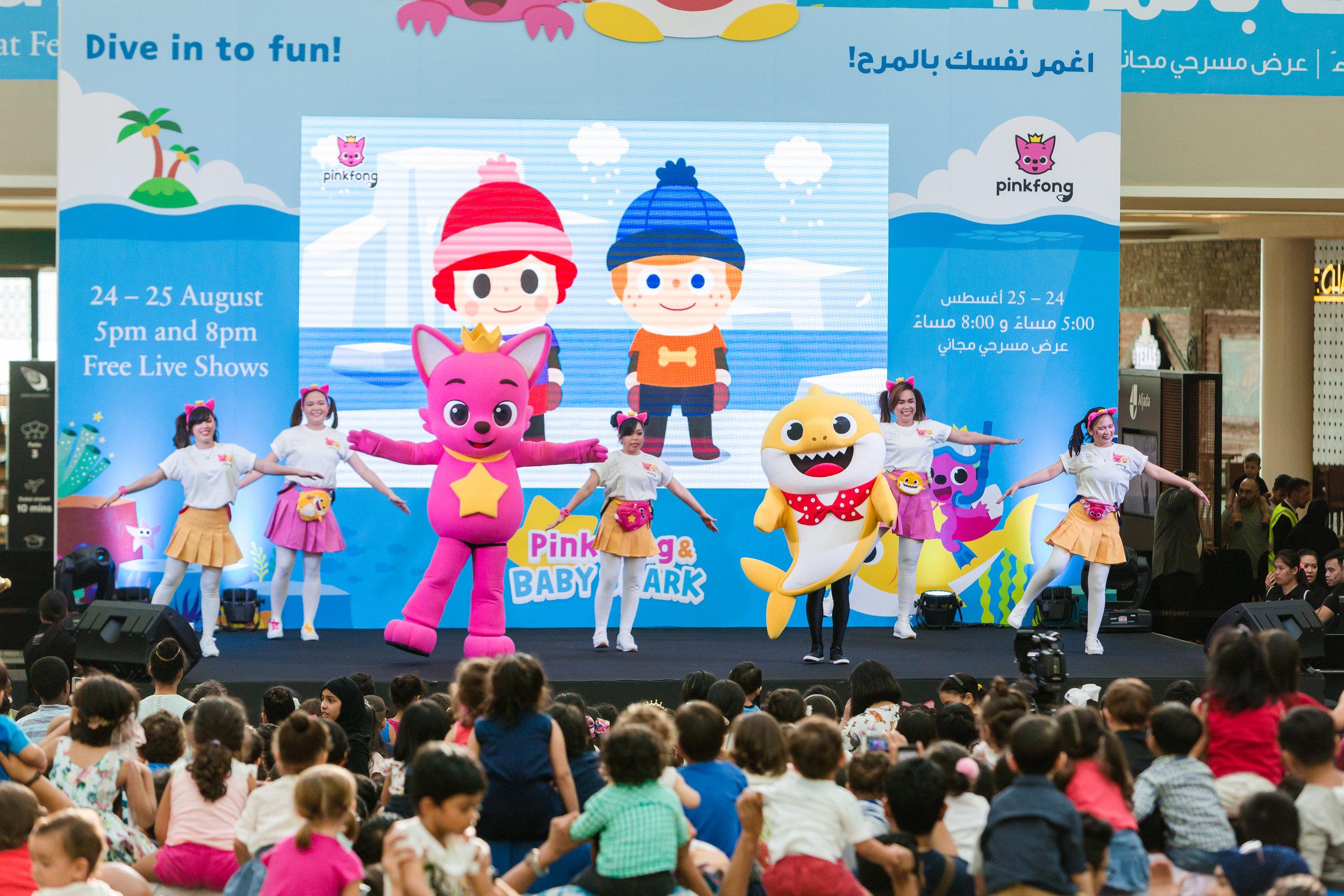 Pink Fonk Baby Shark Dubai Corporate Photographer