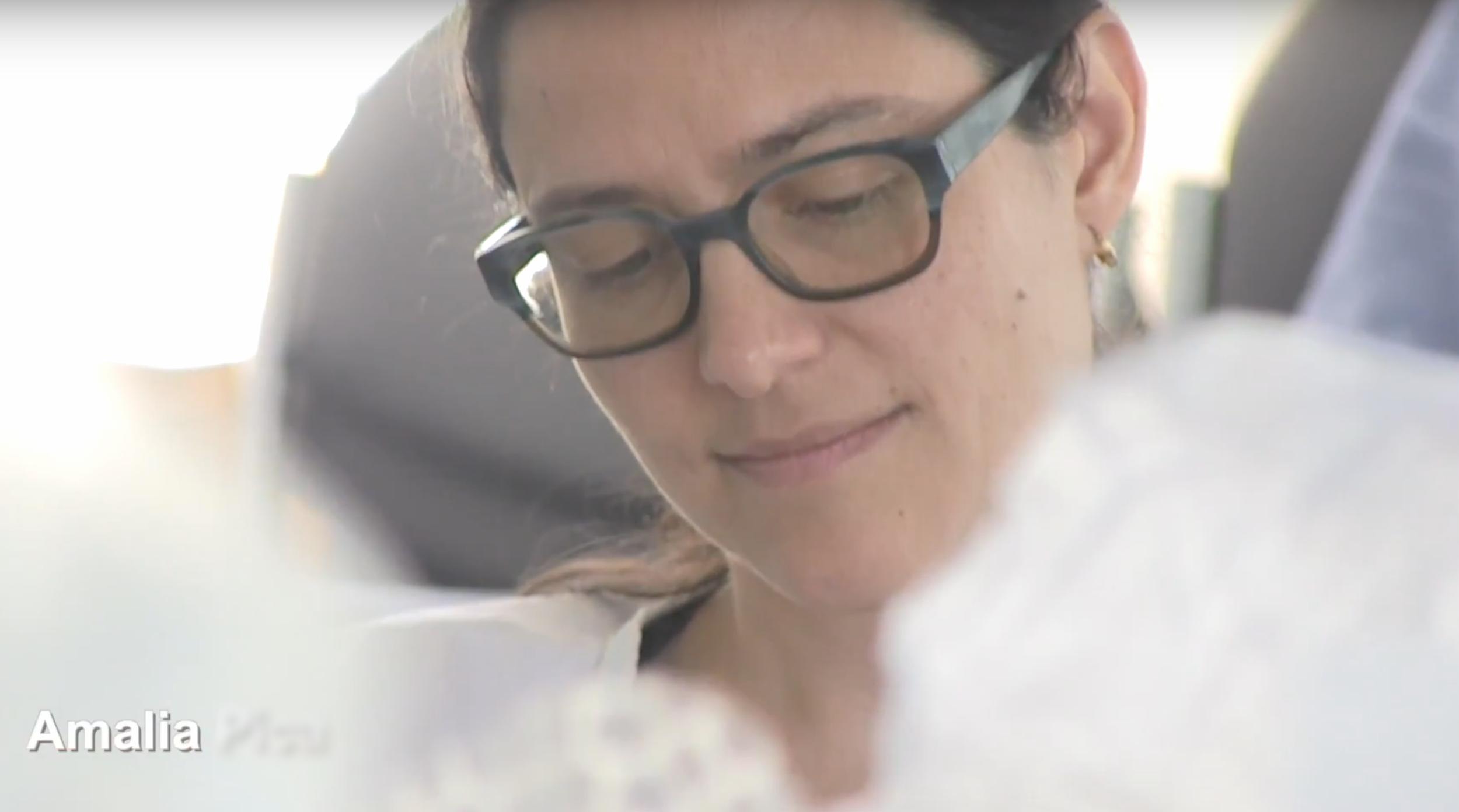 Amalia Pica in an interview film for Folkestone Triennial 2017