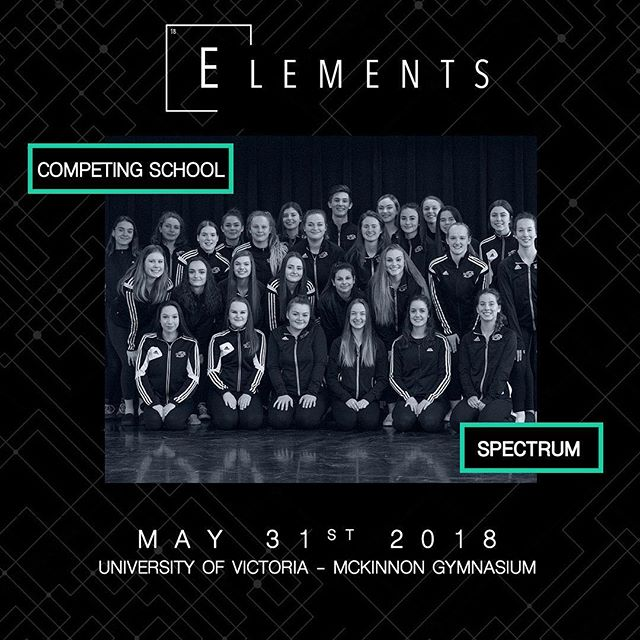 Categories: Senior Hip Hop, Senior Jazz, Senior Contemporary, Senior Open, Entries: BRUNO, AINT NOTHING WRONG, ALL GOES WRONG, RUN BOY RUN, CALL ME MOTHER, CHRISTINA 📍:@universityofvictoria 📧:info@elementscompetition.com Tickets: LINK IN BIO #Elements2018