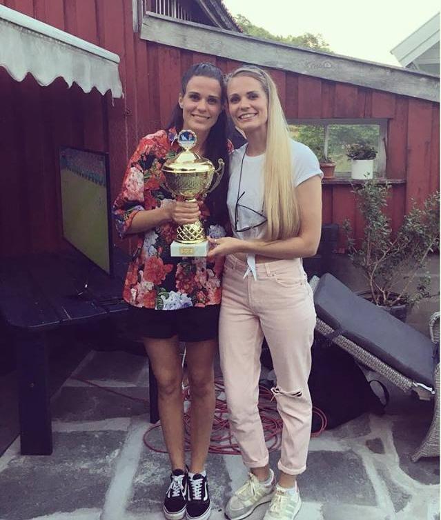 Vinnere: Henriette og Pernille Ingvaldsen