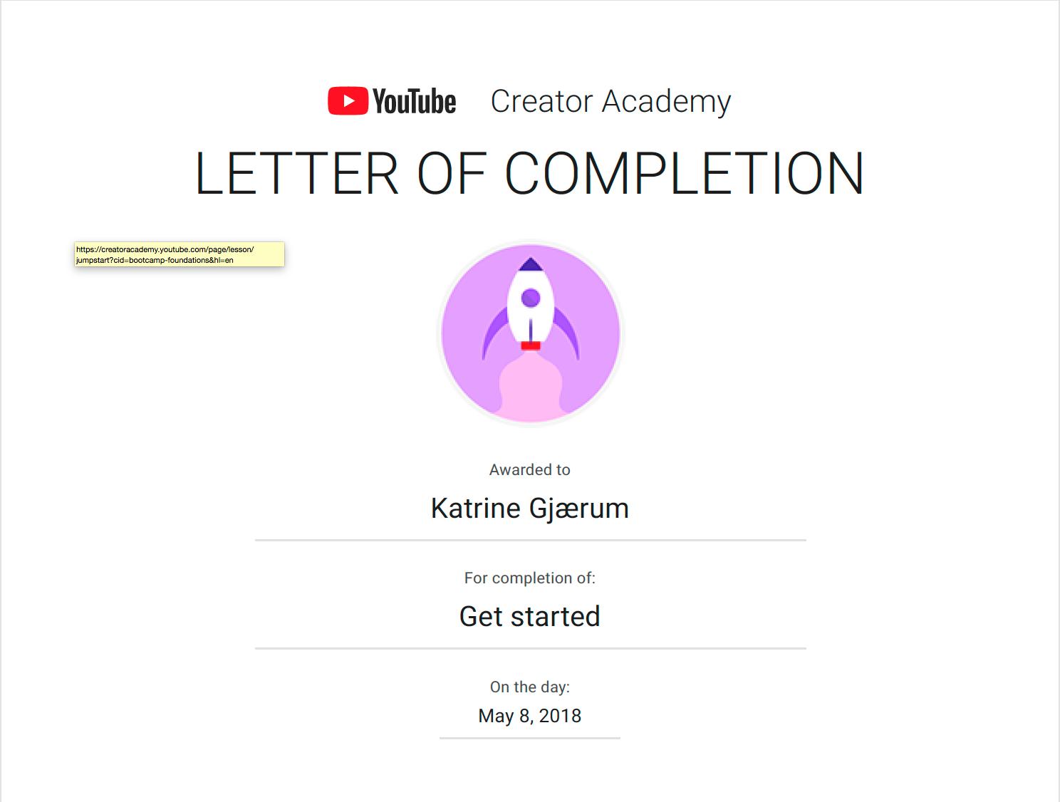 Sertifiseringer YouTube kom i gang.png
