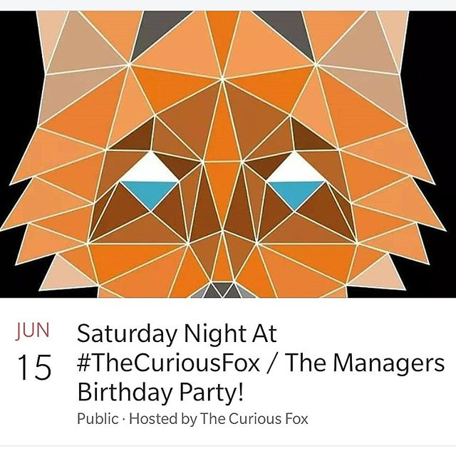 Come and celebrate with the manager!!. . . . #LondonParty #BirthdayParty #Birthday #Party #Dancing #Fun #GoodVibes #Alcohol #Beats #Music #TheCuriousFox #Fox #StratfordParty #LondonBar #Follow #motive #Vodka #Wine #Whiskey #Rum #DarkRum #Disco #Love
