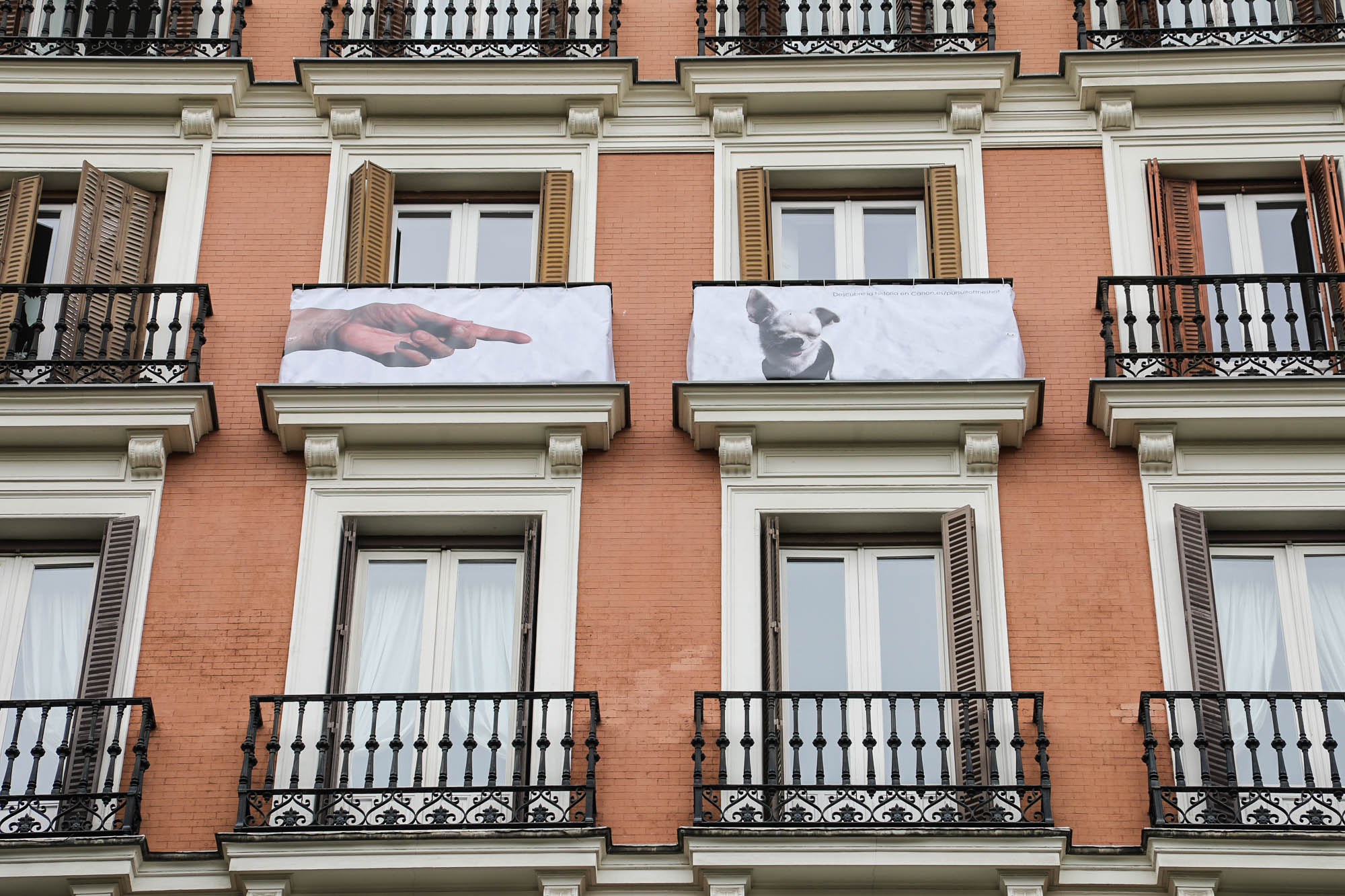Canon Europe - Wider Image Campaign, Madrid