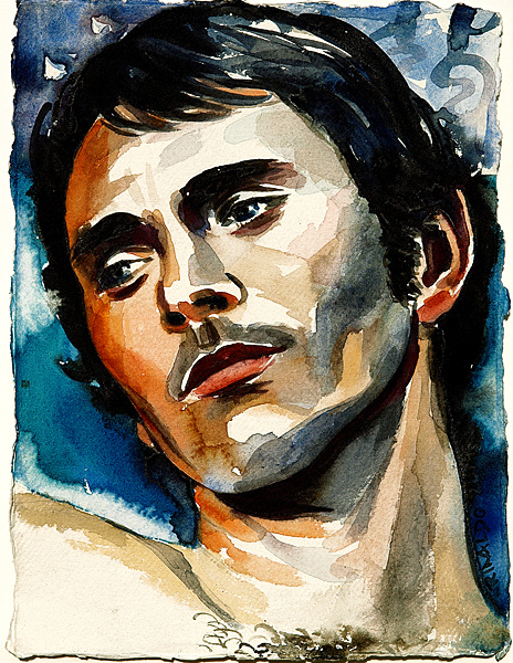 Terrence Stamp in Teorema