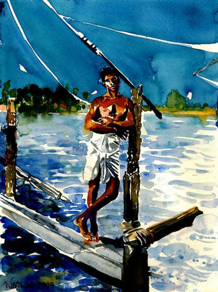 KRISHNA THE FISHERMAN