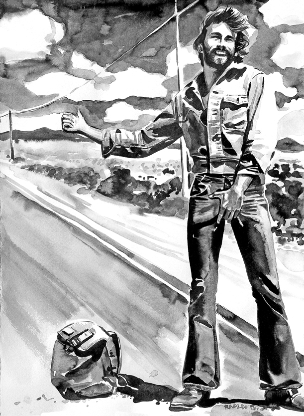 AL PARKER HITCHHIKING, IMAGINED