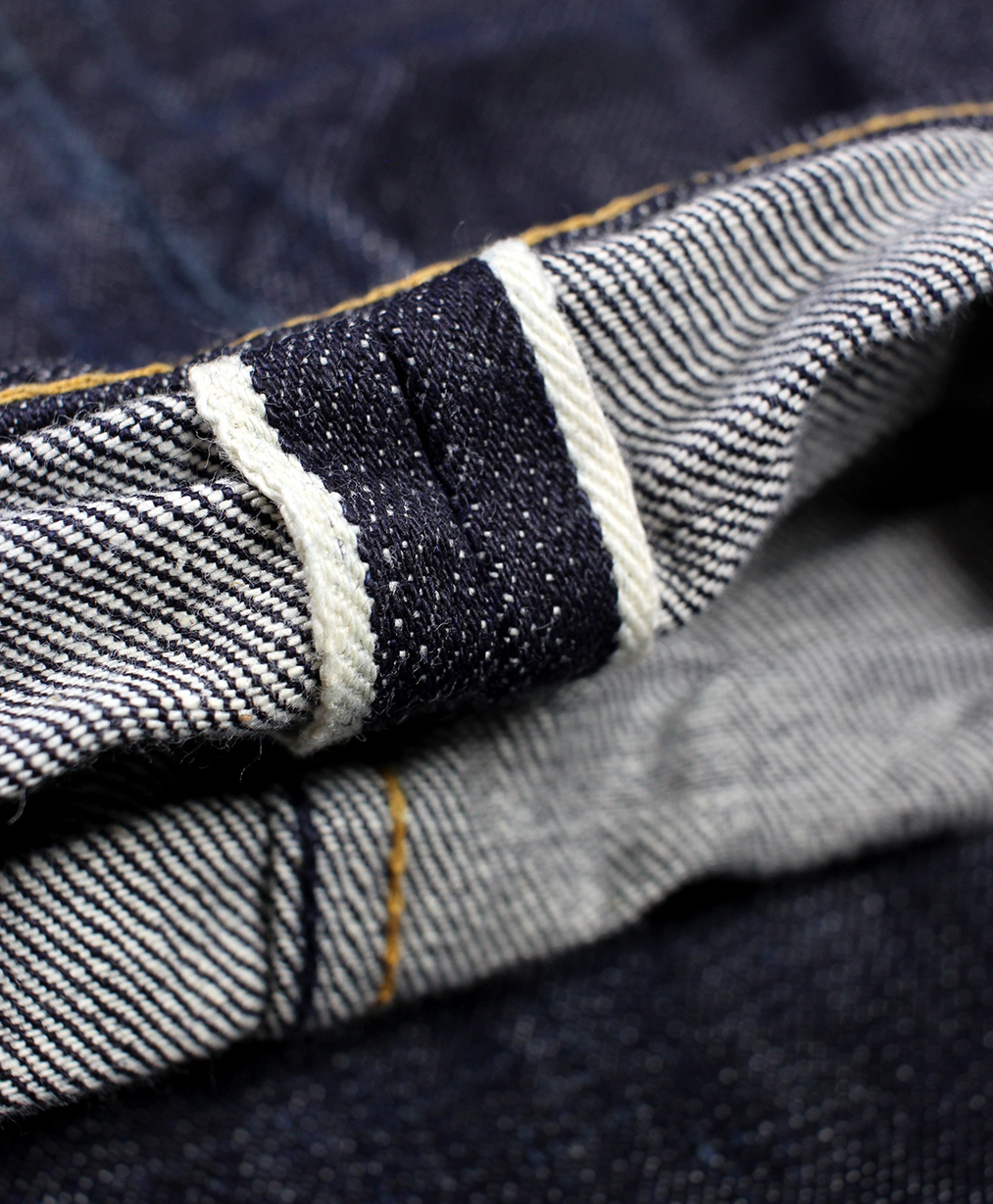 Snake & Dagger Blue Krait Classic Vintage Denim Jeans-7.jpg