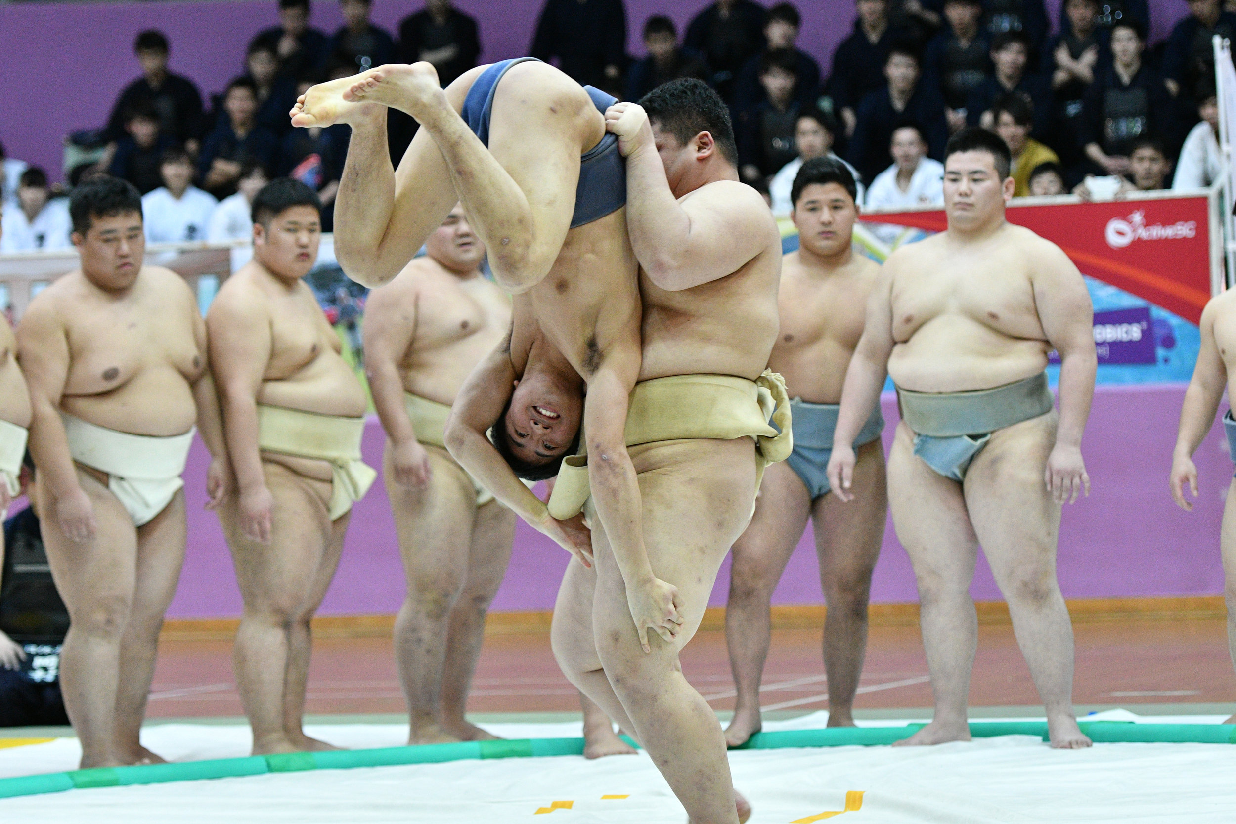 This year's Judo performance was insightful and very much entertaining.