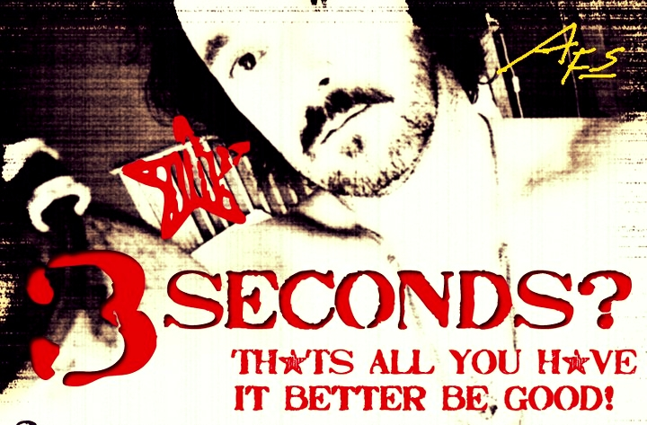 1,2,3 ... You'd Better Be Good Because There's No Second Chance! -