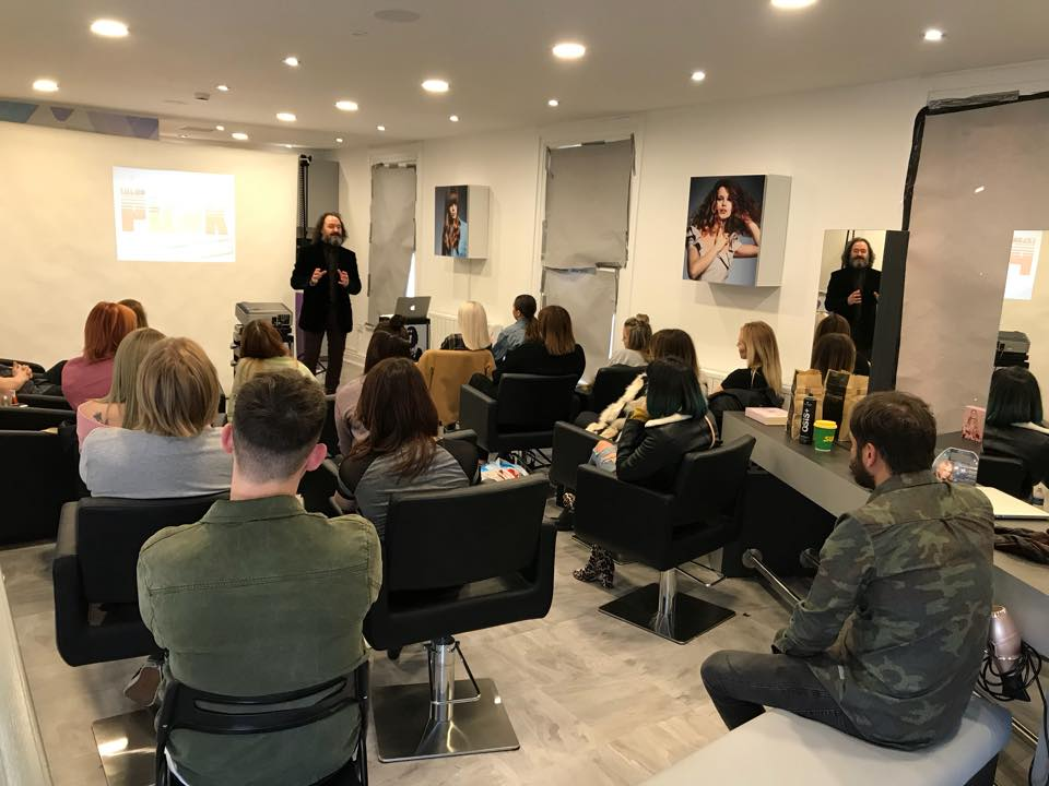 Here's A Recent Talk… - … I got paid £1,995 for a two hour talk to staff in a hairdressing salon in Cheshire, England.