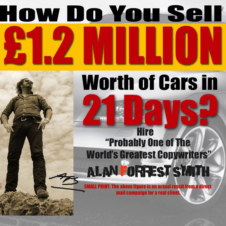 I Sold £1.2 Million Cars in 21-Days - USING PROVEN DIRECT RESPONSE STRATEGY SO SIMPLE YOU WOULDN'T BELIEVE IT.