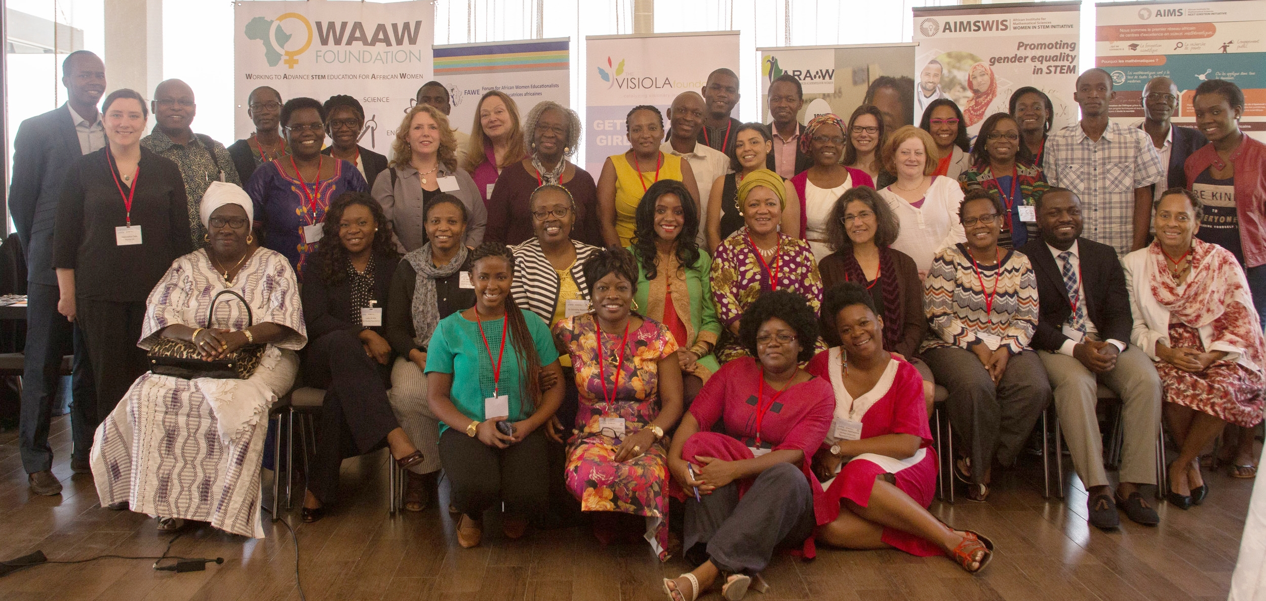 founded, organized &delivered AIMS Women in STEM (AIMSWIS) INiTIATIVE & CONSULTATION WORKSHOPDAKAR, SENEGAL (2016) -
