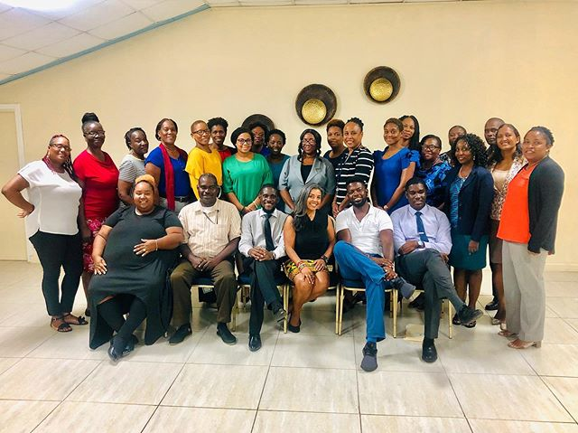 """Engaging men in our efforts to drive social transformation is not just a nice to do. It is a must!"" Karen Craggs-Milne —— I love love love this photo of all the participants that I trained recently from various ministries across the St Lucian government.  I love this photo because of how enthusiastic the men were by the end of the workshop. In just 2 short days with me they 'got' that gender equality wasn't just for and about women, which they previously thought.  They 'got' that men are also impacted by the same systems of gendered social norms, stereotypes and unrealistic gender expectations on everyone.  They 'got' that if we want to make a difference, we all need to work together on this issue and that they have a valid and important contribution to make too.  And all of this enthusiasm culminated in the men saying they wanted to sit right up front in the photo to show their eagerness and support for this work.  So this is more than just another photo of good looking smart people I have trained. It is a reminder to me and each one of them of what we committed to together and how are we are transforming the mentality and work around gender equality to be inclusive of ALL genders. In a culture and context where this is a controversial issue, this is miracle!  If you could only feel how proud I am of all these people and how excited I am to be going back to St Lucia in November to have the same impact on all their bosses!! 💃🏽💃🏽💃🏽 #consciousequality, #consciousequalityacceleratorprogram, #karencraggsmilne, #engagingmenandboys, #genderequalityforallofus, #genderequalitymatters, #genderequalityforallgenders, #diversitymatters, #inclusionmatters, #socialtransformation, #genderequalitycourse, #gendertraining, #genderanddevelopment, #sdg5, #menengage👬, #gendertrainer, #genderequalityexpert, #genderequalityadvisor,"