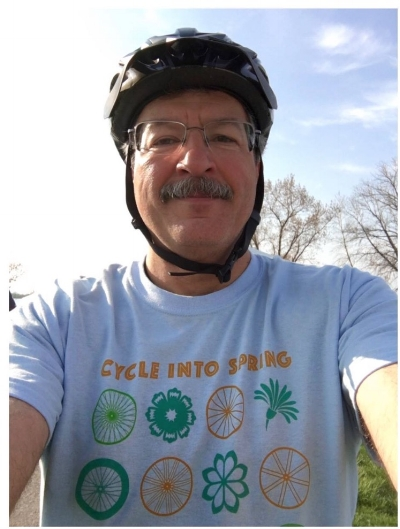 Cyclist, history buff, urban explorer, engineer, DIY'er. Our friend, Mike Darga.