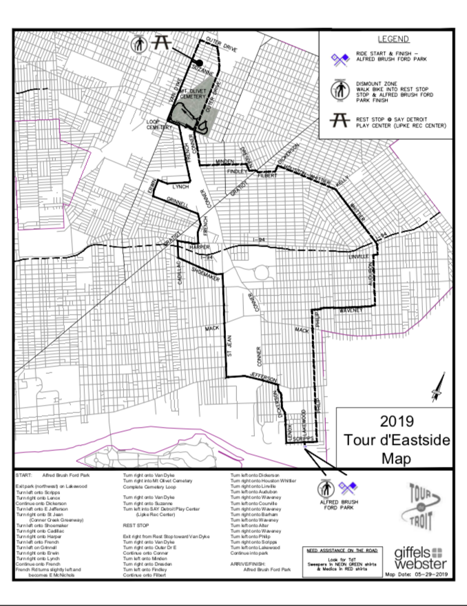 TDE Route Map 2019 FINAL