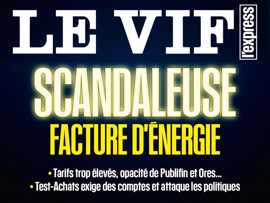 - Votre facture d'énergie n'est pas une feuille d'impôt (TestAchats),LEVIF 8 novembre PDFLa croisade de mitsch contre les moulins politiques,LEVIF 8 novembre (PDF)TVCom (Vidéo)CanalZ (Vidéo)RTBF (Audio)
