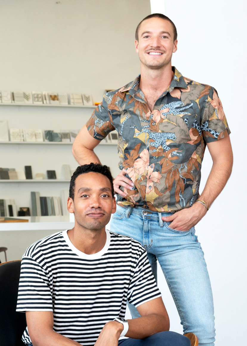 """""""We want our customers to focus on one thing—what inspires them."""" - Co-Founders,Cameron Farrior (left) and Sean Gold"""