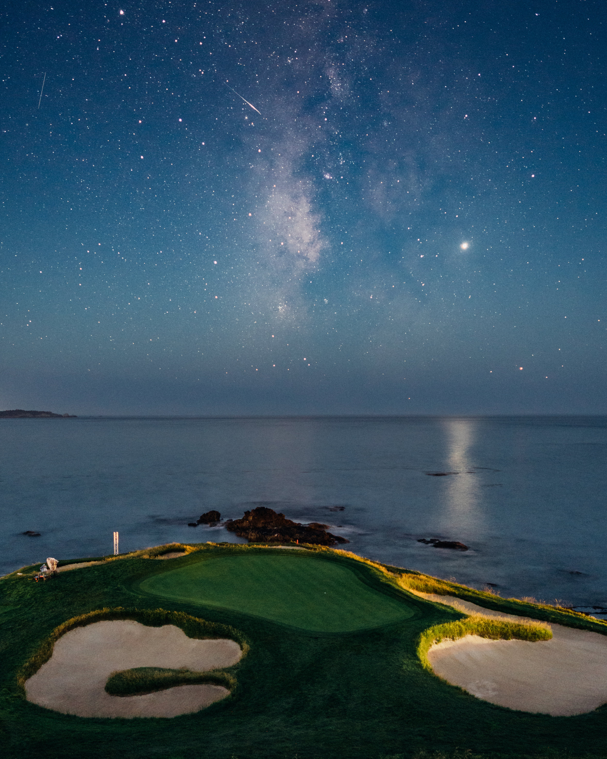 Milky Way Pebble Beach