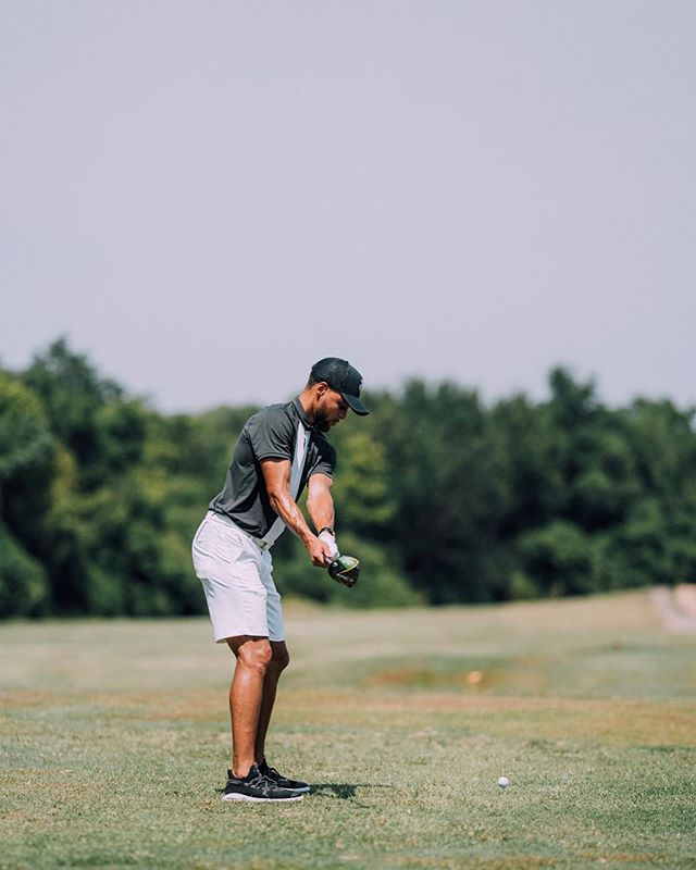 Beyond impressed at the action taken by @stephencurry30 to bring D1 golf to @howard1867 for both Men and Women. Major shouts to @callawaygolf as well for supporting and progressing golf. I'm beyond proud to be associated with the brand and what they stand for. . Before I go I wanted to tell a quick story about the young guy in the photo. I saw him in a full sprint as Steph made the turn. His mom and I walked and talked to the 10th. Small talk and she told me how excited he was to see Steph. That Steph Curry is his idol and his nickname is Curry because he's a pure shooter. To see someone engage kids on a one to one level and by making larger impacts with eduction, heathy eating habits and now golf is inspiring. That kid will remember this day for his entire life. And he might end up a Bison golf star in a few years because of the actions taken today.