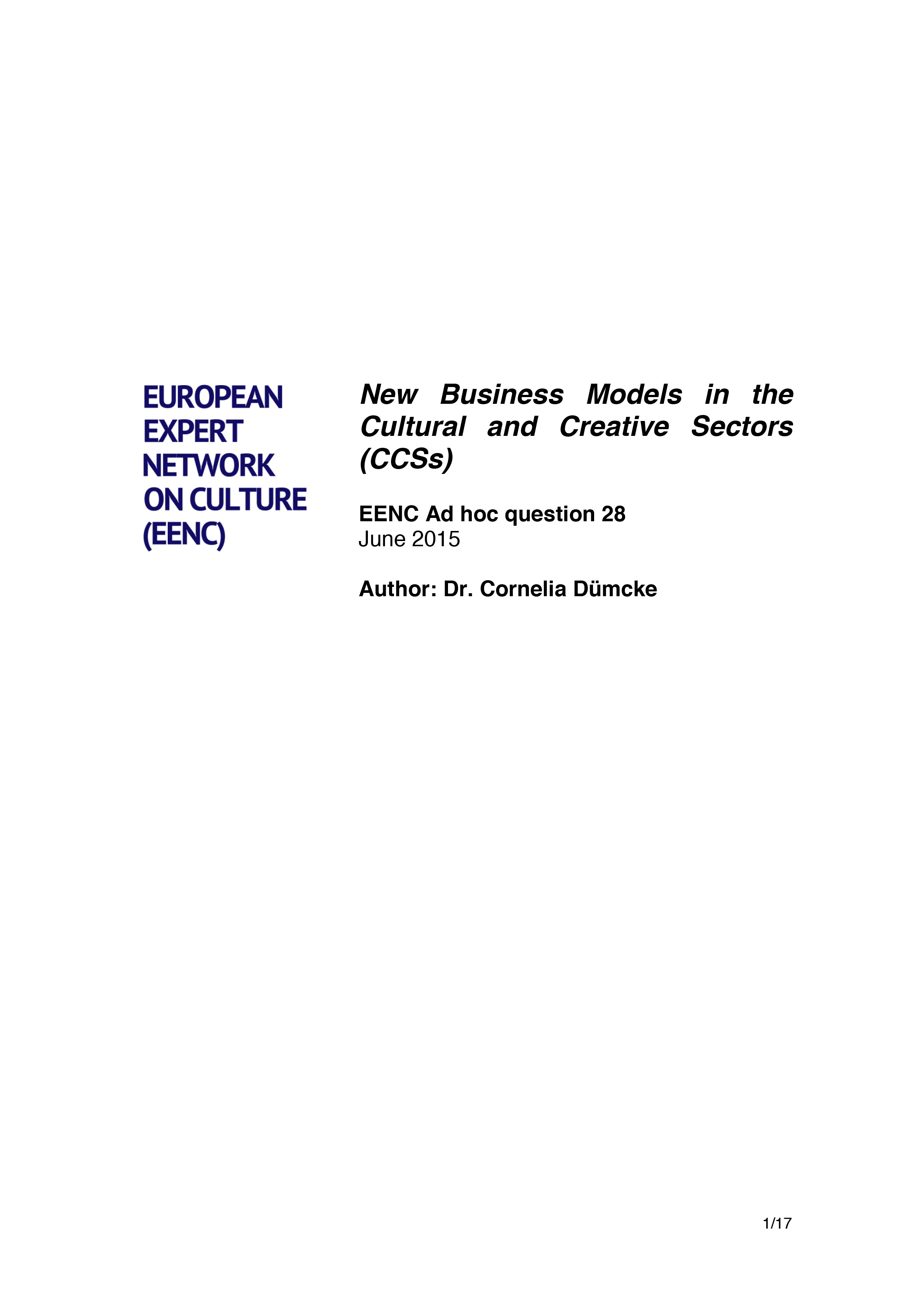 2015_DB_Dümcke_EENC_Ad hoc question_New Business Models in the CCSs.jpg