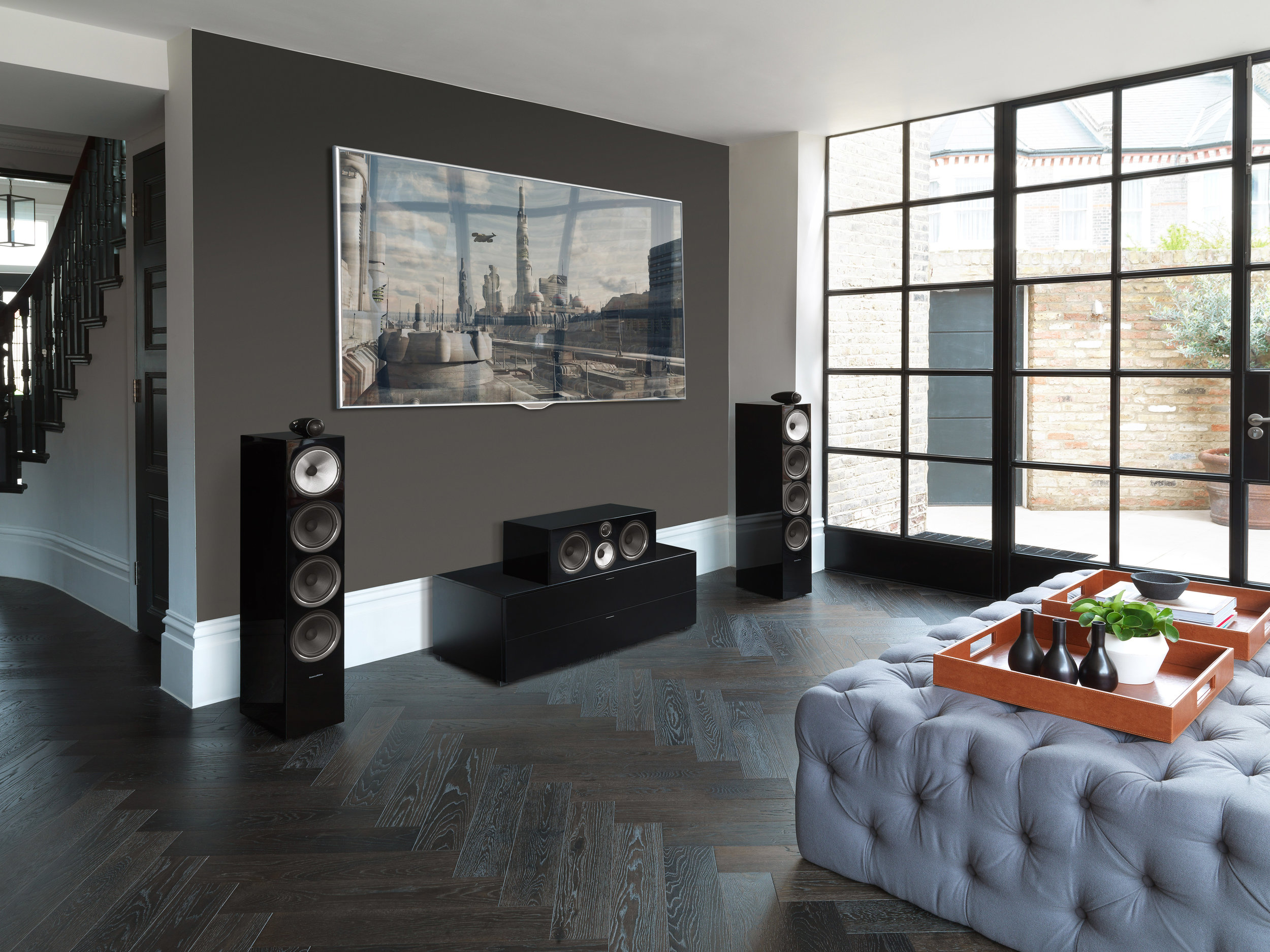 Bowers & WIlkins 702 S2 and HTM 71 S2