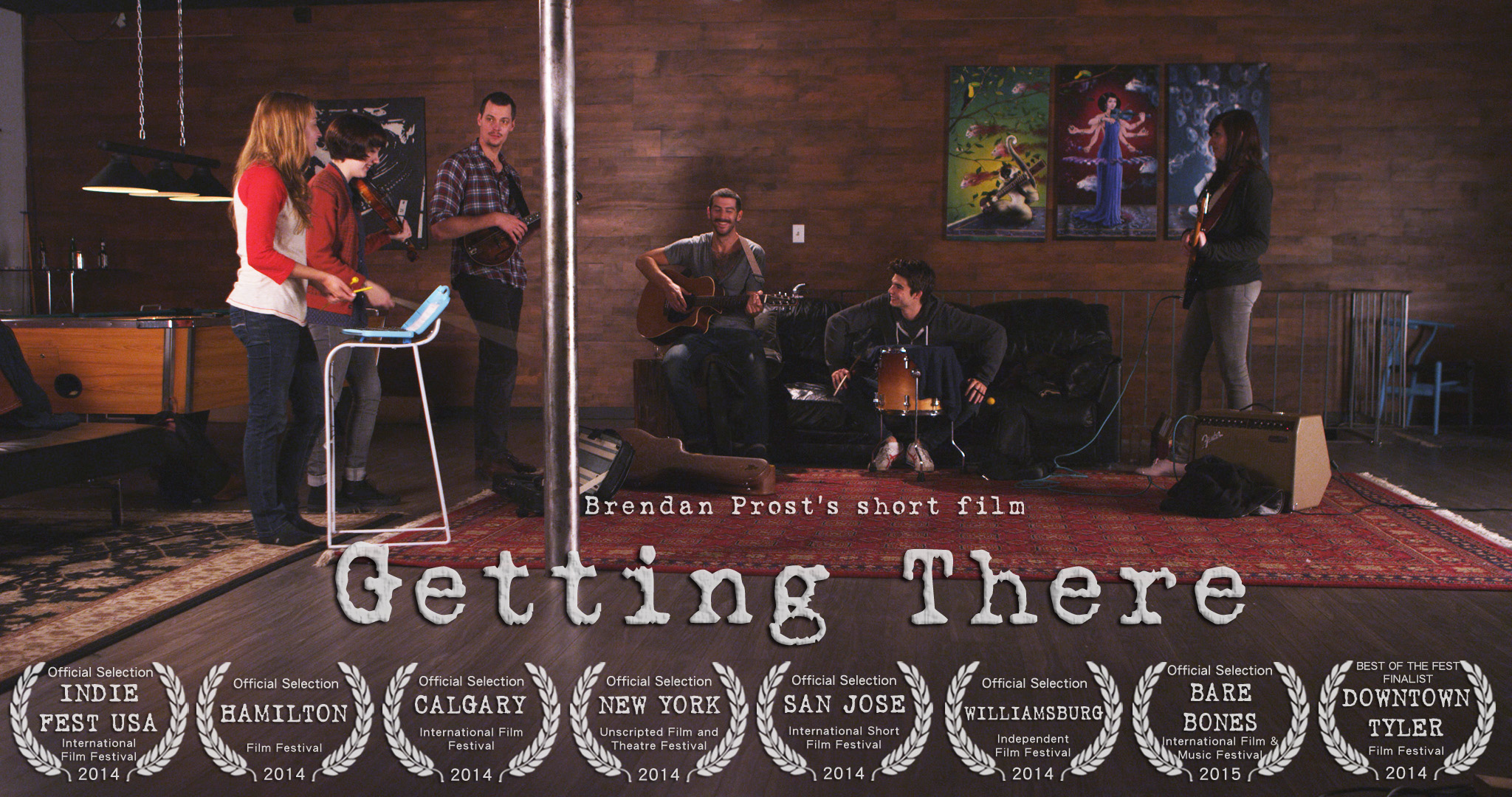 GETTING THERE - Narrative Musical Drama / 2014 / 14mins