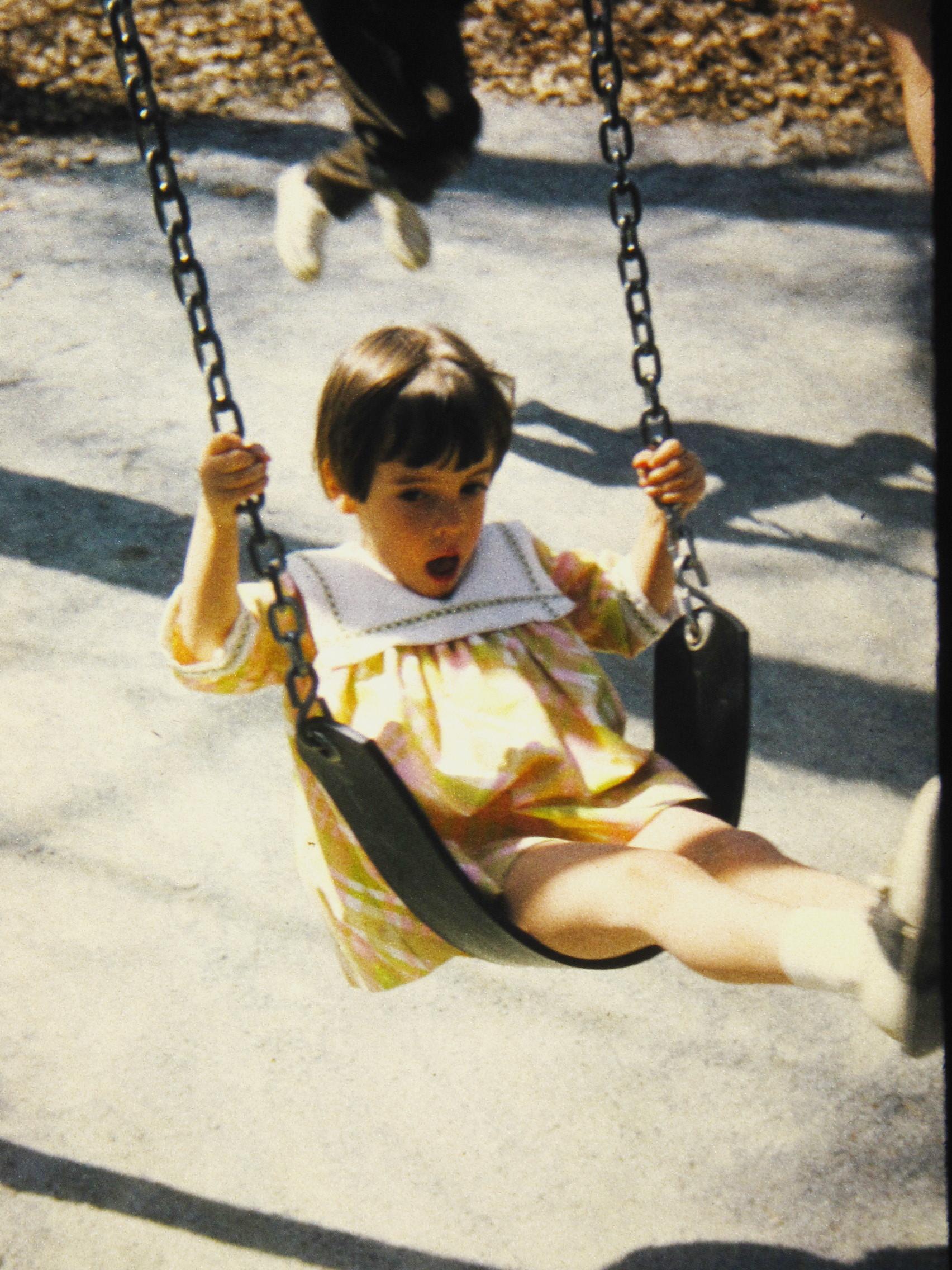Pam on Swing.JPG