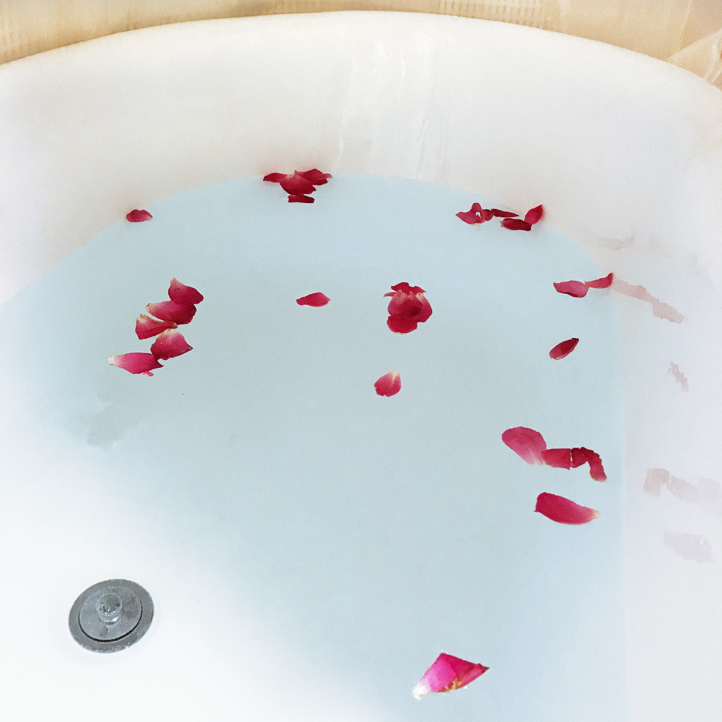 Try adding rose petals!