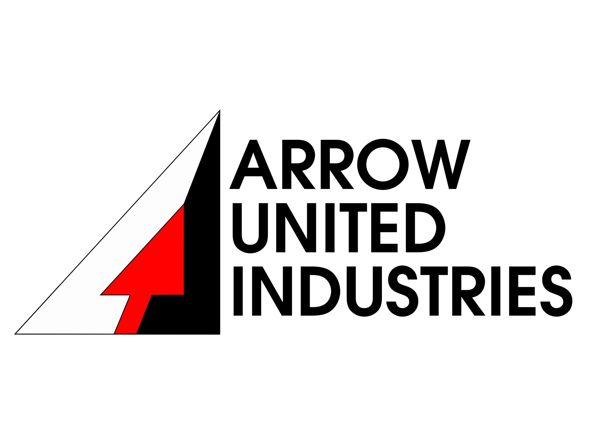 Arrow United Industries Logo 2018 SDFSDF.png