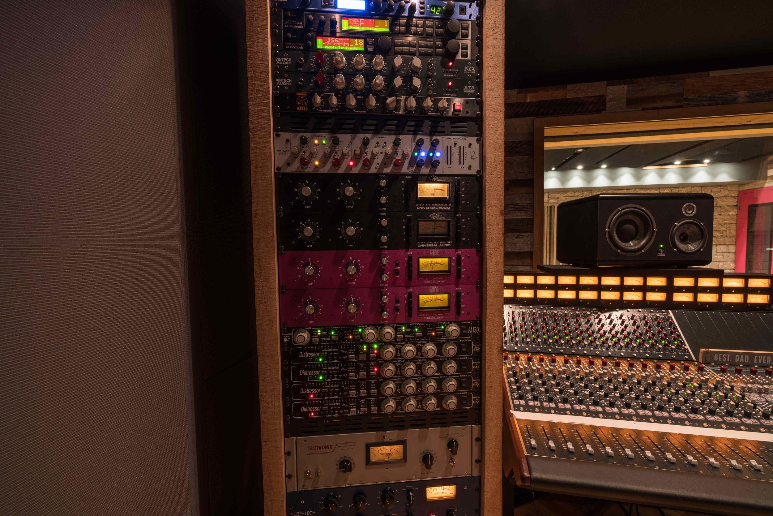 Leeds Recording Studio gear