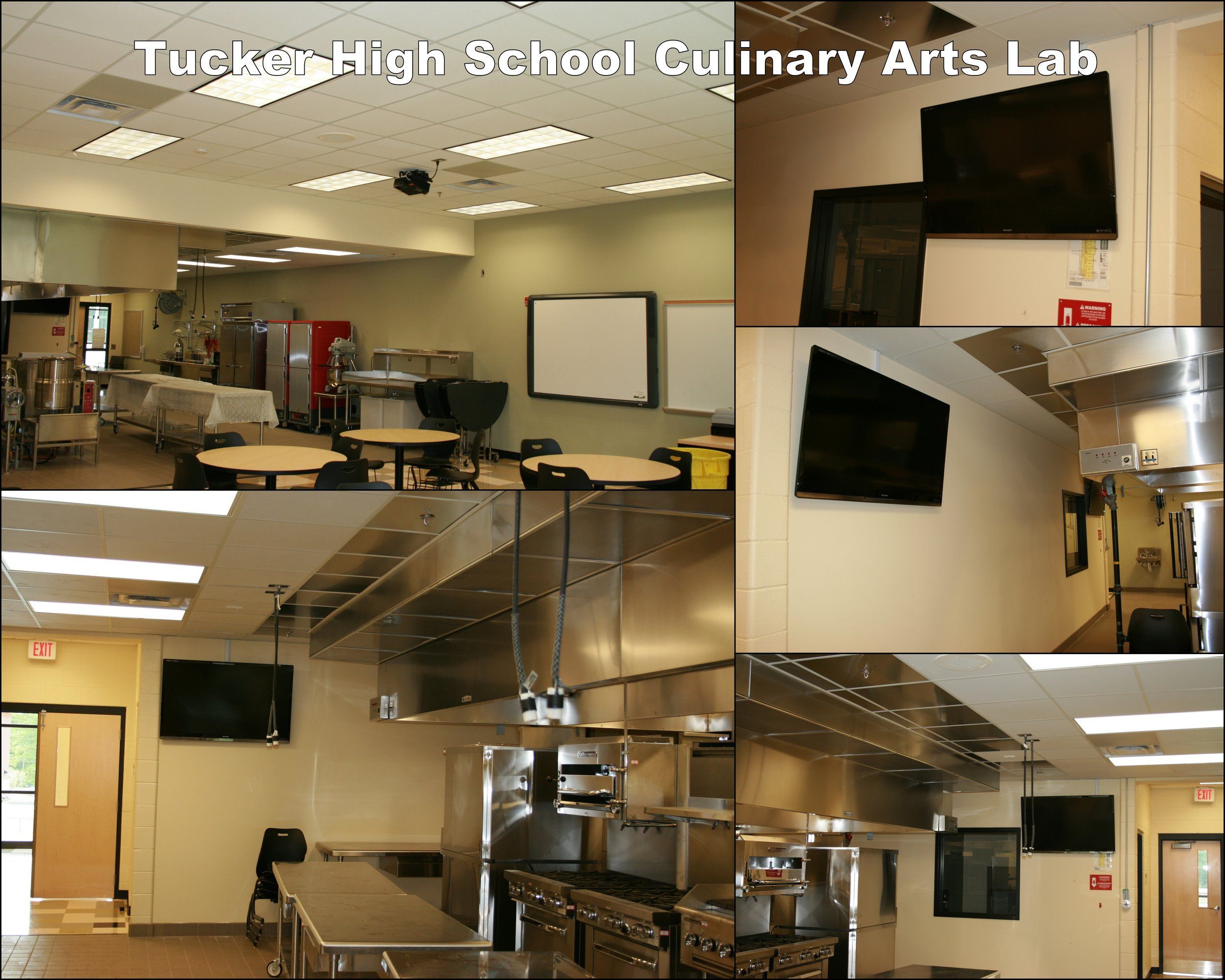 Tucker High Culinary Arts Lab collage.jpg