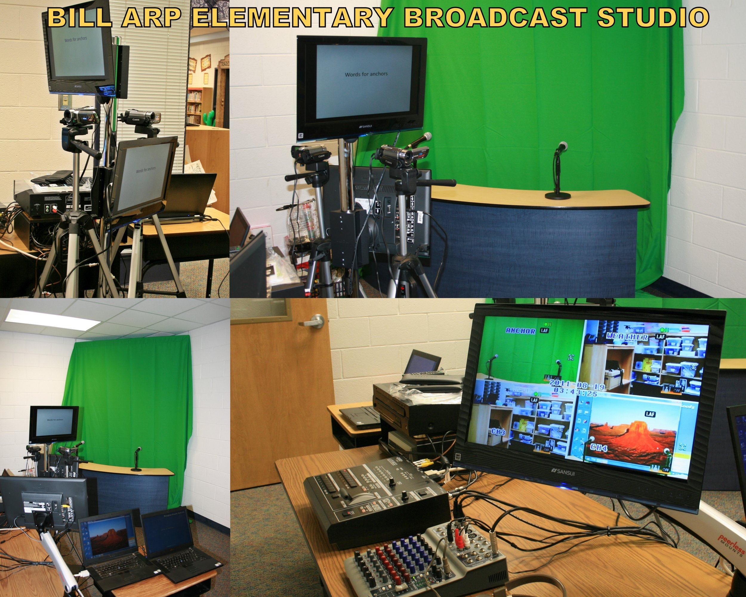 Bill Arp Elem. Broadcast Studio.JPG