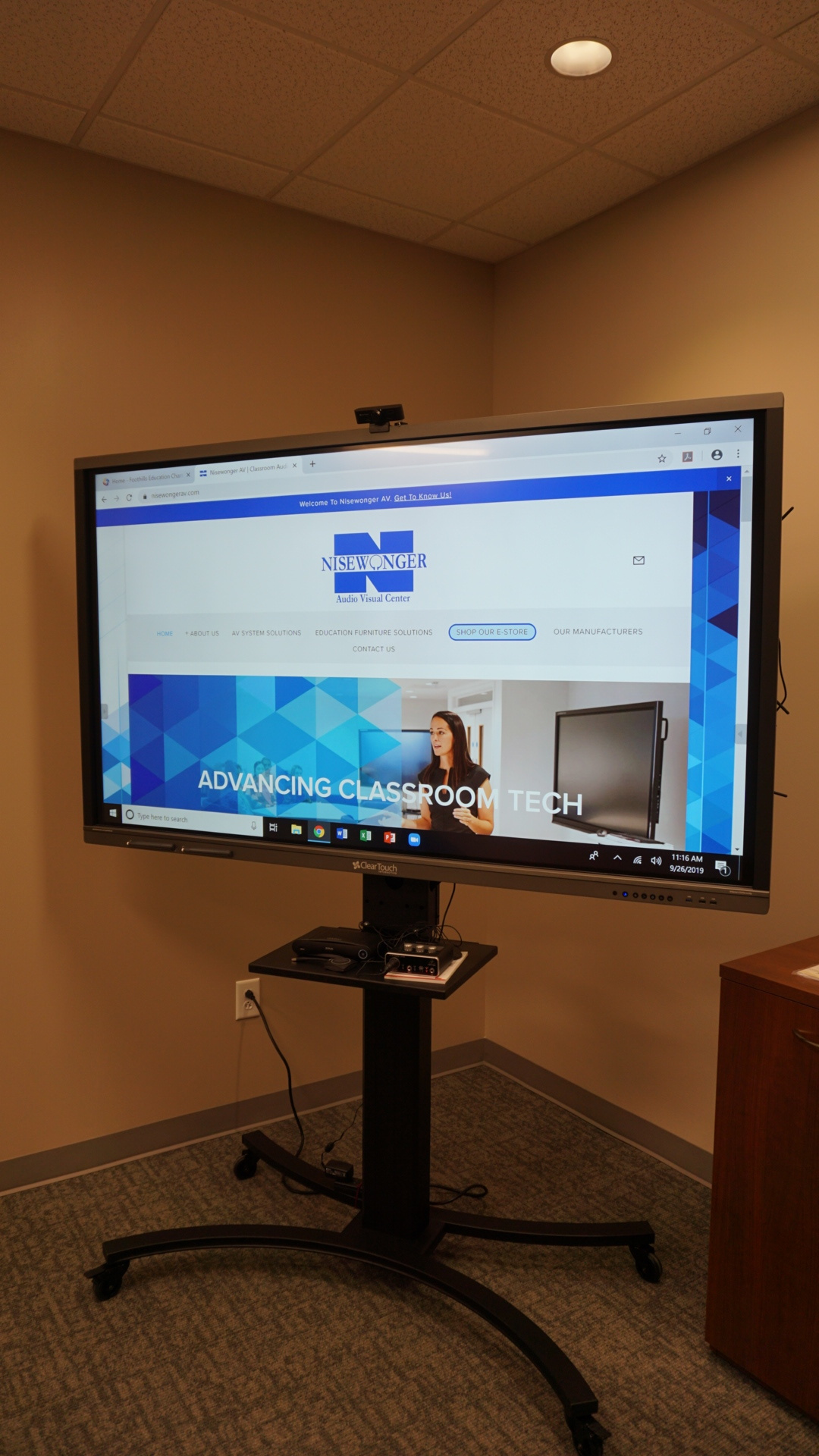 Cleartouch Interactive Panel
