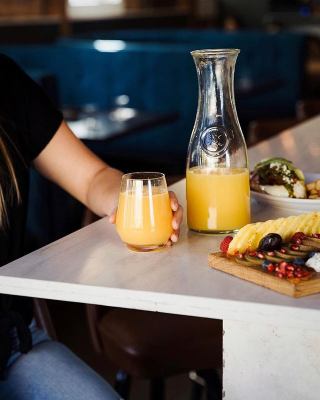 "EXCITING NEWS: 🍾🥂 Starting this weekend, our one-of-a-kind brunch menu will feature 8 FLAVORS OF BOTTOMLESS MIMOSAS!  Pair your avocado toast with a classic Orange, Pineapple or Cranberry Bottomless Mimosa for just $15, with the purchase of an entrée.  Feeling a little more adventurous? Try the Chilaquiles alongside one of our Jarritos Guava, Jarritos Grapefruit or Chicha Morada Bottomless Mimosas.  Treat your tastebuds to a bottomless glass of fresh-squeezed fun that will have you saying ""Cheers to the freakin' weekend!"" We'll drink to that. . . . . . 📷 : @kcplates  #tribekc #triberivermarket #igkansascity #kcplates #kcfoodie #eatlocalkc #drinklocalkc #rivermarketkc #kcrivermarket #kcbrunch #mimosastyle #bottomlessmimosas #kcfoodiefinds #igerskc #igkansascity #igkc #igkcmo #kcmo #brunchdate #weekendvibes✌️ #eatingkc #kansascityfood #brunchlife #kcrestaurants #cafestagram #kcfood #eatlocalkc #supportlocalkc #foodiegrams"