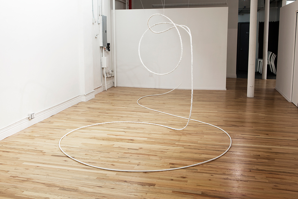 ...thrown rope, lasso recourse: a lie-in waiting...