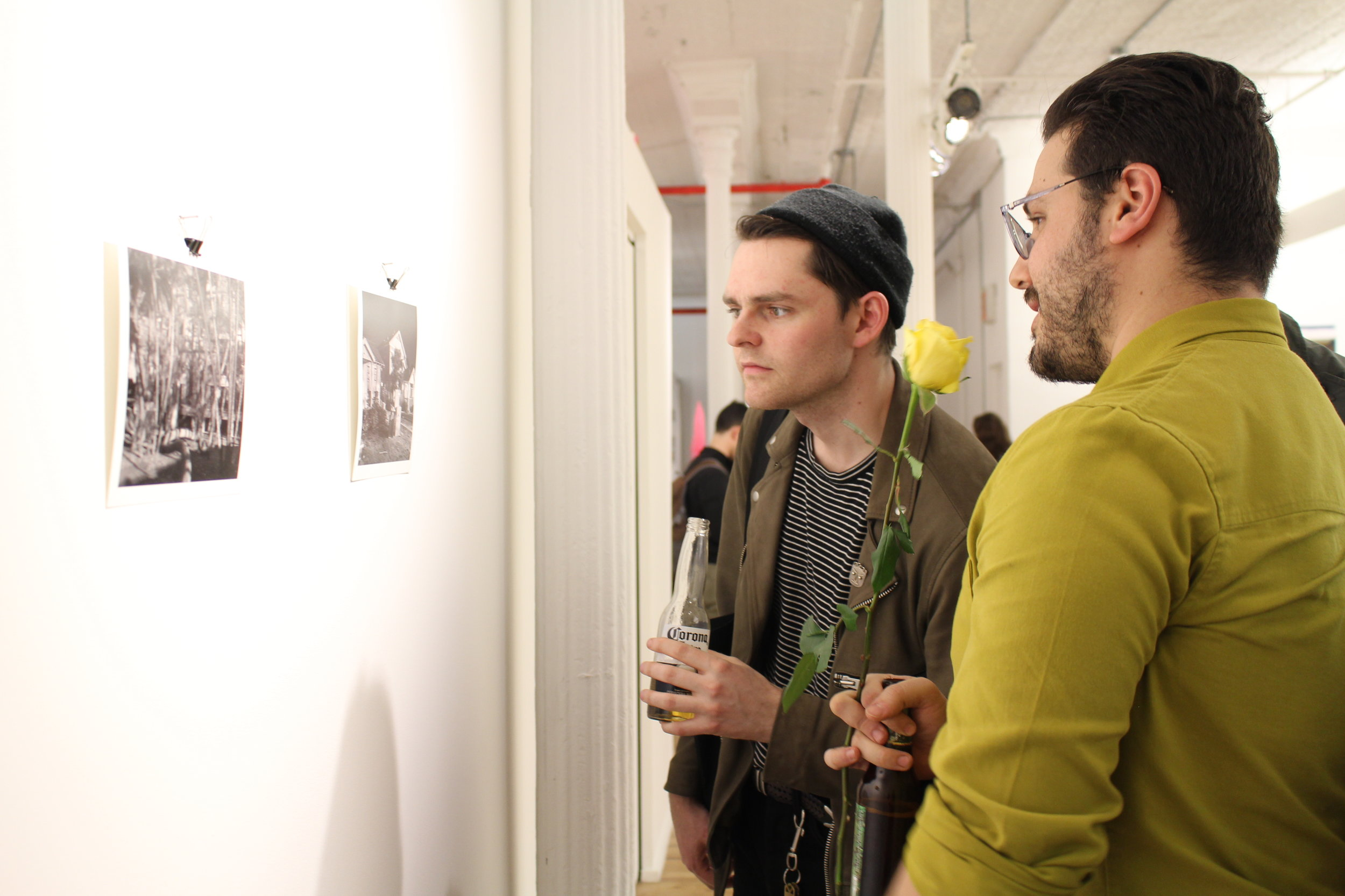 """Viewing Jonathan Chacón's work, """"In the offing"""""""
