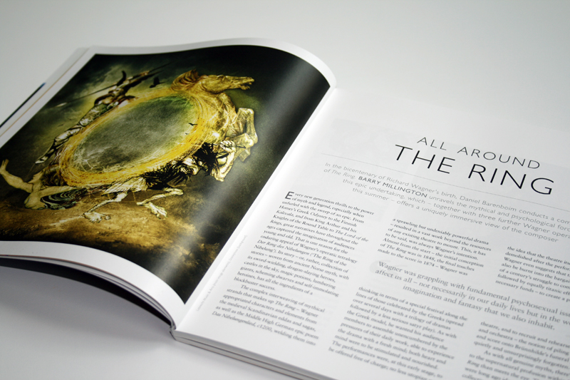 White space and bespoke images gave the Proms brand impact in the classical music market