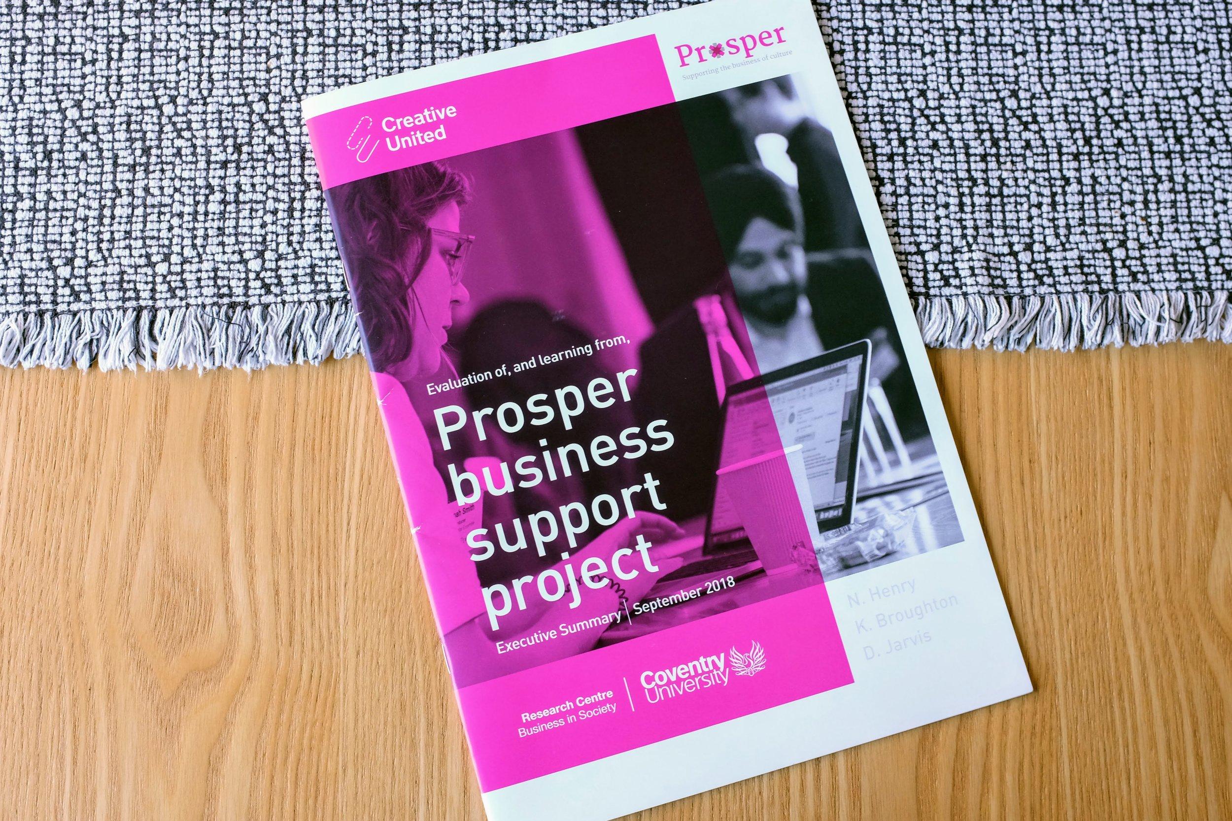 Prosper printed report