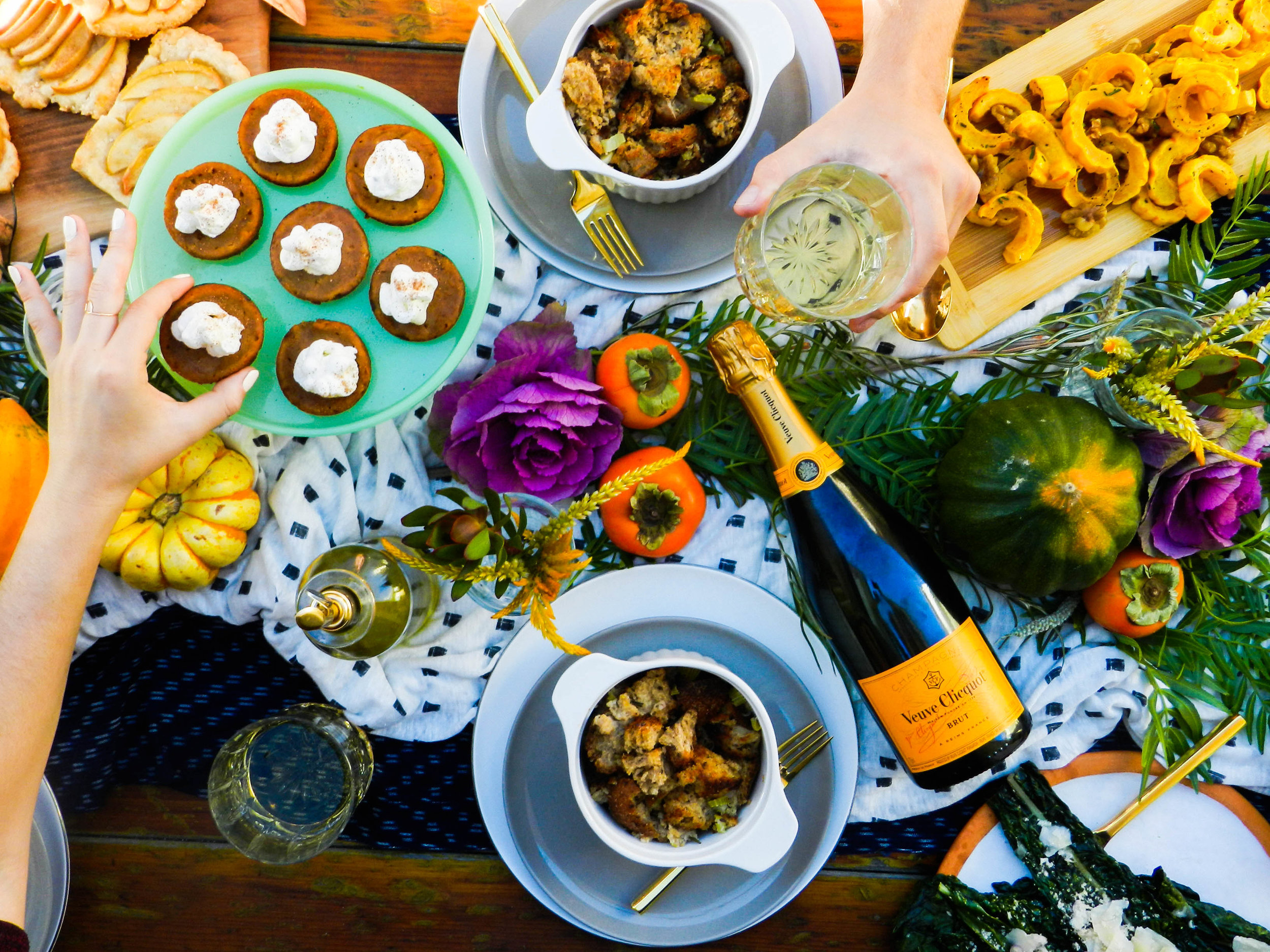 Veuve Clicquot Thanksgiving Series, Fall Entertaining.jpg