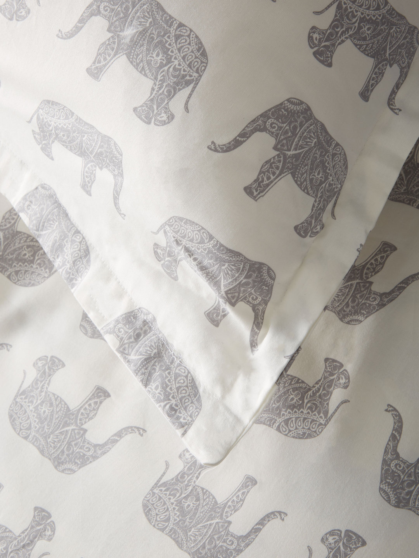 203406 T400 Cotton Elephant Duvet Set_Grey_Detail.jpg